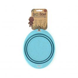 Beco Pets Beco Travel Bowl Medium 1 ks, modrá